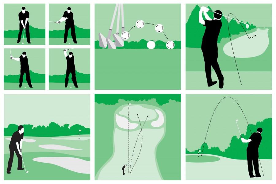 Golf-Technique