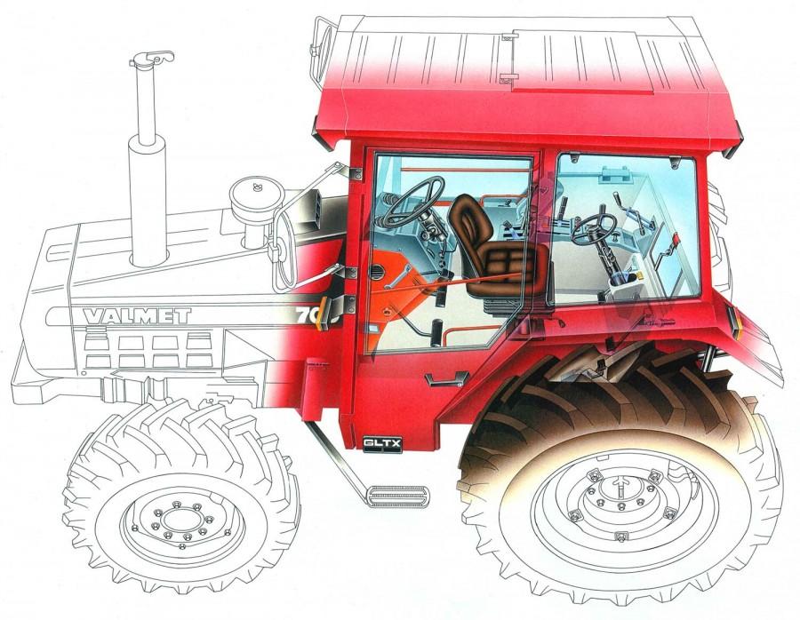 Valmet-tractor