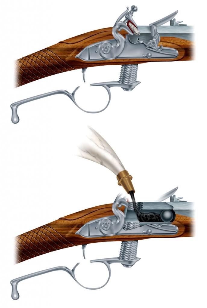 Ferguson-breechloading-flintlock